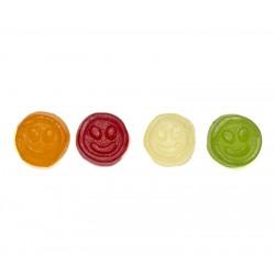 Gominolas sin azúcar con forma de Emoji . Chuches aptas para dietas