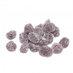 Bote pequeño de gominolas Berries sabor Cereza. Chuches  hechas de fruta 100% natural. Wonkandy