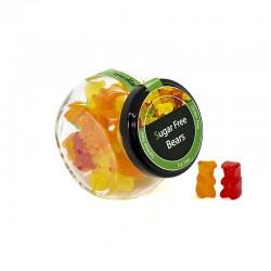 Bote pequeño Gominolas osos sin azúcar. Golosinas Wonkandy.
