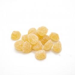 Bote pequeño Gominolas Berries Jengibre. Chuches hechas de fruta 100% natural. Wonkandy