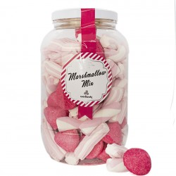 Mix pink Marshmallows....