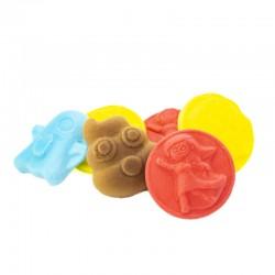 gominolas Moji Fun. Chuches varios sabores. Wonkandy