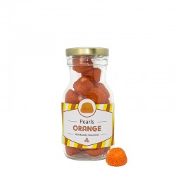 Orange Sugar Nuts Bottle