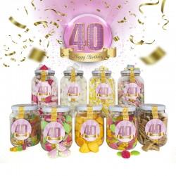 Pack 40 Cumpleaños - Mujer