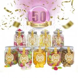Pack 50 Cumpleaños - Mujer