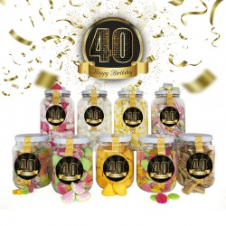 Pack 40 Cumpleaños - Hombre