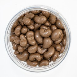 Anacardo con chocolate con leche